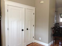 Attirant Craftsman Double Door Set. 3 Panel Interior DoorsCraftsman ...
