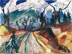 Edvard Munch - The Magic Forest, 1919