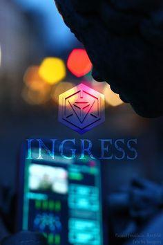 #Ingress Let The Fun Begin, Have Fun, Ingress Resistance, Ingress Enlightened, Satisfy My Soul, I Am Scared, Augmented Reality, Glitch, Fun Games