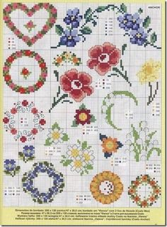 Cross Stitch Cross-Stitch Cross-Punto Punto Croce-Point-Croix-229