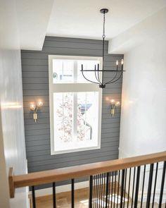 54 ideas modern farmhouse lighting hallway for 2019 Flur Design, Apartment Decoration, Decoration Inspiration, Up House, Modern Farmhouse, Farmhouse Decor, Farmhouse Lighting, Farmhouse Chandelier, Modern Rustic
