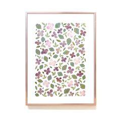 Cadre Diy, Diy Resin Crafts, Pressed Flower Art, Flower Artwork, Flower Frame, Illustrations, Diy Flowers, Wall Art Decor, Greenery