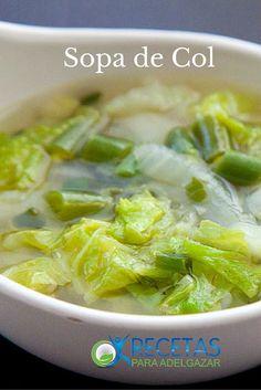 ¡Pierde kilos con la dieta de la sopa de col! #Diets