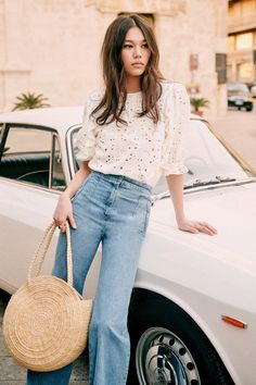 Look Fashion, Girl Fashion, Fashion Outfits, Womens Fashion, Style Désinvolte Chic, My Style, Spring Summer Fashion, Spring Outfits, Casual Outfits