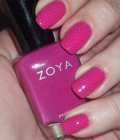 Punky's Polish: Zoya Reagan and Lara Stamping