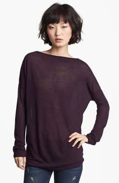 Vince 'Twisted' Tunic Top | Nordstrom