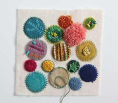 More embellishment from Sue Spargo