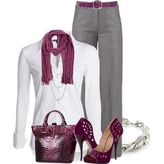 """""""Trousers Button-down Shirt & Heels """"CONTEST"""""""""""