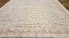 70003060 (A) Modern  silk Transitional Zigler Custom Collection carpet,, 12'. 9 x 8'.9