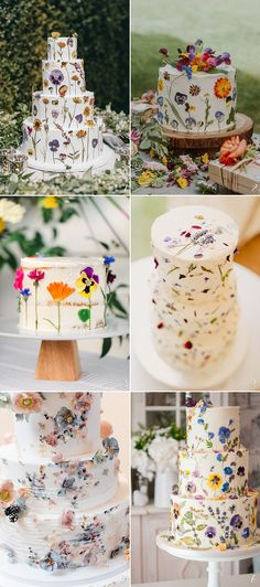The Ultimate Guide to Decorate Your White Wedding Cake – 10 Creative Trends for Every Wedding Style! Edible Pressed Flower Cakes vegan wedding cake The Ultimate Guide to Decorate Your White Wedding Cake - 10 Creative Trends for Every Wedding Style White Wedding Cakes, Wedding Cakes With Flowers, Beautiful Wedding Cakes, Gorgeous Cakes, Wedding Cupcakes, Wedding White, Vegan Wedding Cakes, Cake With Flowers, Fall Wedding