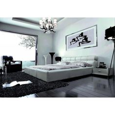 Great VIG Furniture  B803R   Modern Eco Leather Bed   VGEVBB803R | Great  Furniture Deal | *sexybed | Pinterest | Modern Beds, Leather Bed And Beds
