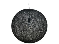 Lampa Wisząca Cocoon II czarna Invicta Interior