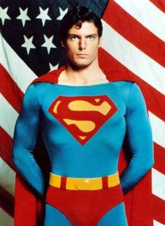 Christopher Reeves as Superman.  My first real crush.