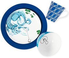 Clinton Kelly Effortless Table Lucky in Love 4 Piece Place Setting