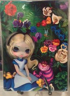 Disney Wonderground Gallery Alice in The Garden Jasmine Becket Griffith Postcard | eBay