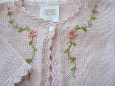 Mano del bebé del Knit Cardiga |