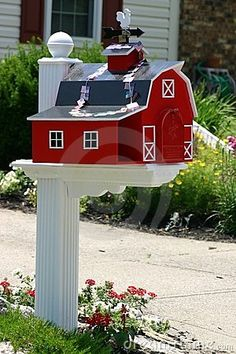 I miss the days when we had our own mailboxes -- a unique mailbox (that has a separate compartment for newspapers)
