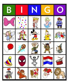 Feest: Bingo carnaval 9