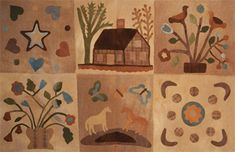 The Maine Project...Wool Applique...2nd Thurs of each month from 6-8pm with Blackberry Primitives at Simply Bungalow
