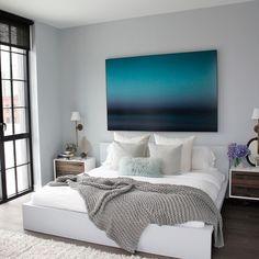 Ikea Malm bed | by @Athena Calderone