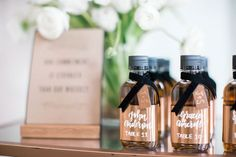Masculine Whiskey-inspired Styled SHoot (Grey Likes Weddings) Wedding Blog, Wedding Styles, Man Party, Coffee Bottle, Event Decor, Whiskey, Party Favors, Inspiration, Inspired