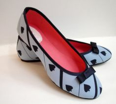 cute heart shoes