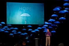 Love the Umbrella of Hope idea here. Could also be great for a kids church ocean theme (jellyfish)
