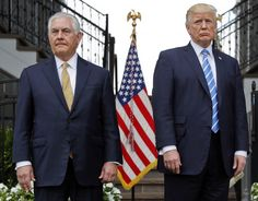 The White House has a plan to remove Secretary of State Rex Tillerson and elevate two close Trump allies to prominent positions. New Jersey, Best Brain Teasers, Rex Tillerson, Donald Trump Tweets, Trump International, Mike Pompeo, New York Daily News, North Korea, Suit Jacket