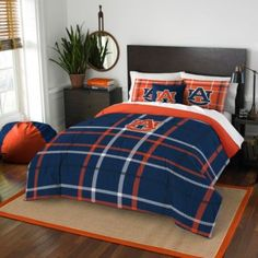 Buy Auburn University Embroidered Comforter Set from Bed Bath & Beyond