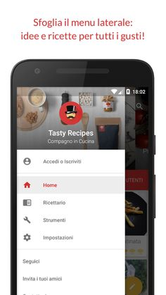 The 7 best recipe android app images on pinterest free recipes tasty recipes app menu forumfinder Images
