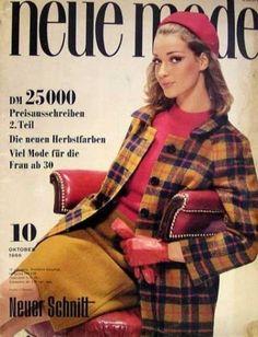 Neue-Mode-1966-10-w-Burda-Modezeitschrift-60er-Maentel-Pelz-Tanzparty-Ensembles