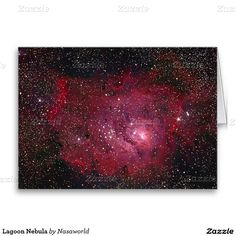 Lagoon Nebula Greeting Card
