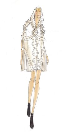 Sketch from the AW11 collection