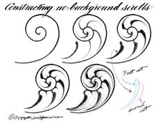 Filgree Filgree The post Filgree appeared first on Ruby Sanders. Leather Tooling Patterns, Leather Pattern, Gravure Metal, Motif Baroque, Filigree Tattoo, Arabesque, Ornament Drawing, Leather Carving, Jewelry Drawing