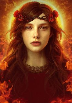 The high Priestess by GerryArthur.deviantart.com on @DeviantArt
