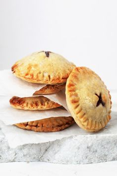 Easy Cherry Hand Pies Recipe