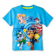Toddler Boys' Paw Patrol T-Shirt - Turquoise