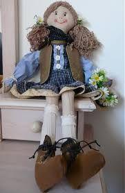 Výsledok vyhľadávania obrázkov pre dopyt handrová bábika strih