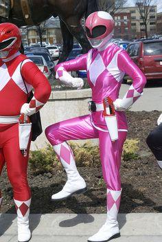 Pink Power Ranger!