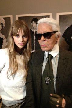 Exclusive Karl Lagerfeld interview