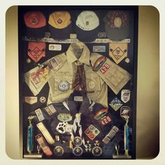 cub scout shadow boxes - Google Search