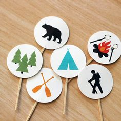 Baby Shower Ideas for Boys | Happy Camper | Camping Theme Baby Shower by I Heart to Party