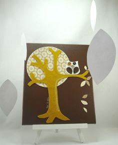 owl art. I am MAKING this.