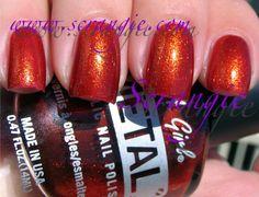 Scrangie: LA Girl METAL Metallic Nail Polish Collection Copper Alloy