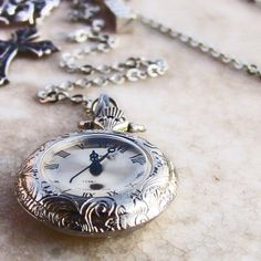 Vintage Steampunk men Pocket Watch