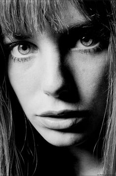 Jane Birkin- Possibly the most beautiful and photographic woman to ever live.