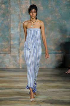 TORY BURCH The Best Looks From New York Fashion Week Spring/Summer 2016  - ELLE.com