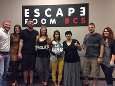This group met unwittingly in Dr. Andrew's lab and escaped in 52 minutes!