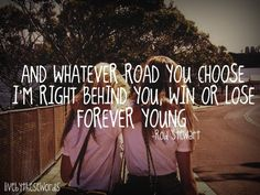 I wanna be forever young!