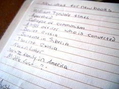 Journal List Prompts
